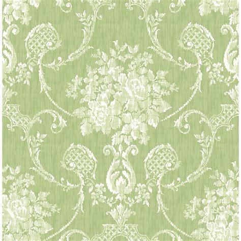wallpaper green damask beacon house fusion green ombre damask wallpaper 2535