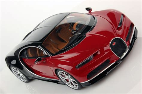bugatti chiron red bugatti chiron 1 18 mr collection models