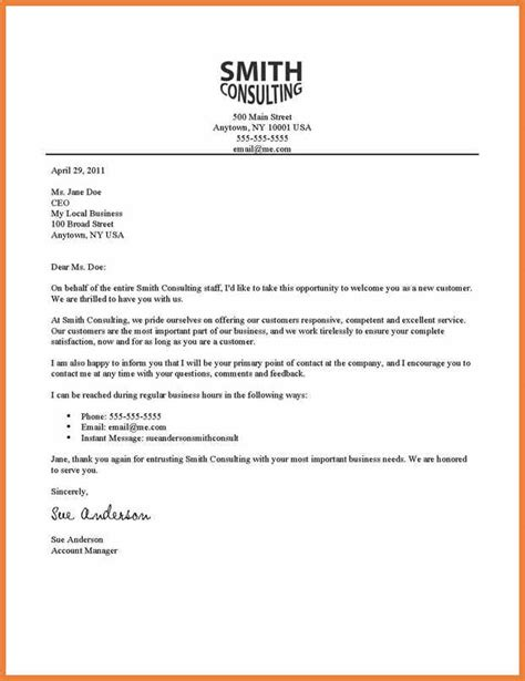 Customer Letter Greetings Professional Letter Greeting Sop