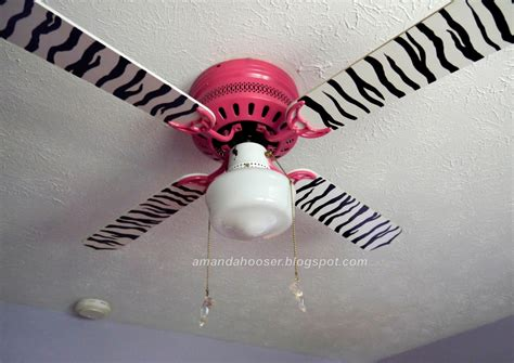 pink ceiling fan lowes i can totally do that zebra striped ceiling fan