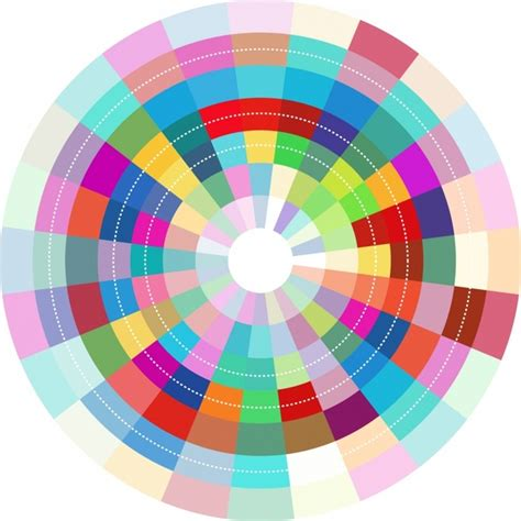 circle pattern graphic design colorful abstract circle design free vector in adobe
