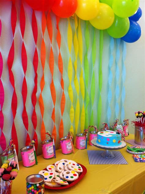 birthday themes for nine year olds so perf birthday party for an 8 year old girl rocker