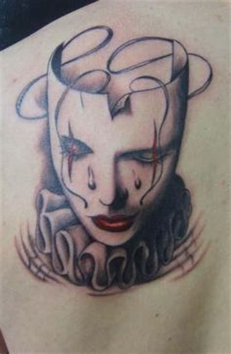 happy sad mask tattoo designs 1000 images about tattoos on back