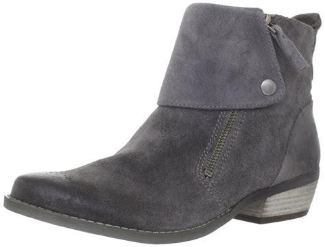 nine west womens bleaker ankle boot in gray grey lyst
