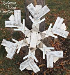 reclaimed wood snowflake winter decor my altered state wood pallet wall decor memes