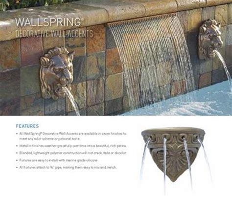 pool decorative wall accents swimming pool brochure aquatic pools and spas product