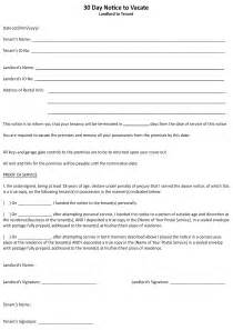 30 Day Lease Termination Letter by Free Alabama Lease Termination Letter Form 30 Day Notice Pdf To Terminate Agreement