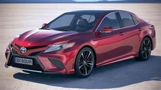 Toyota Se Toyota Camry Se 2018 3d Model Cgstudio