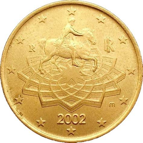 50 buro cent 50 cent 1st map italy numista