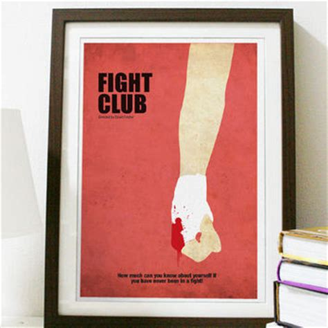 Studded Fight Club by Fight Club Poster A3 Print From Posterinspired On Etsy