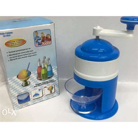 Alat Serutan Es Shaver Manual Portable Snow Corn Crusher eigia alat serut es manual crusher biru daftar harga harga