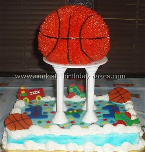 coolest homemade basketball cakes.html   autos post
