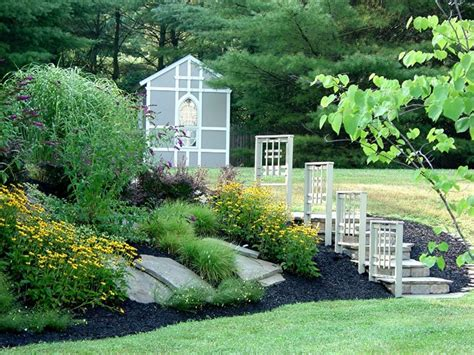 Landscape Design Baltimore Baltimore County Shed And Landscaping Traditional