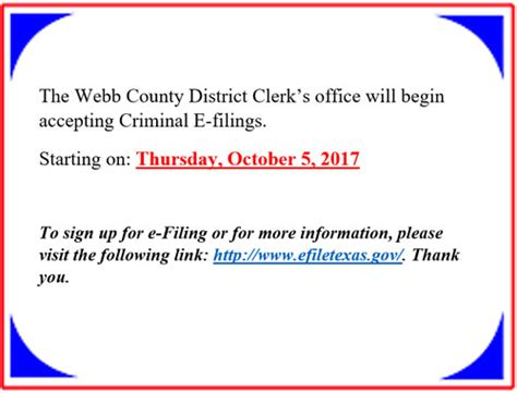Webb County District Court Search District Clerk