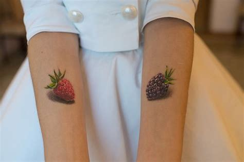 raspberry tattoo designs minimal minimal and