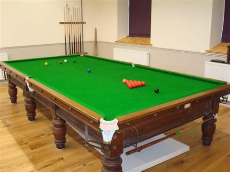 Snooker Table Size by Snooker Room Mynydd Llandegaimynydd Llandegai