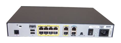 Router Cisco 1800 cisco 1800 series 1811 v07 8 port integrated services