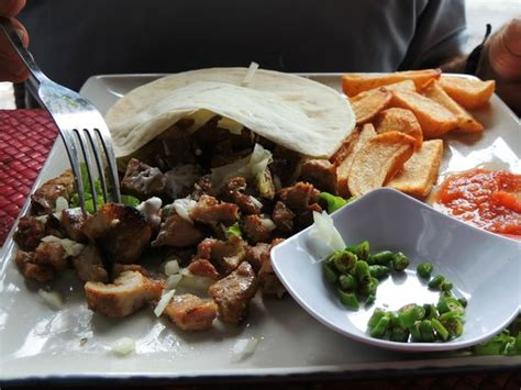 Kebab Balifood chicken kebab and cut chips picture of warung doner kebab sanur tripadvisor