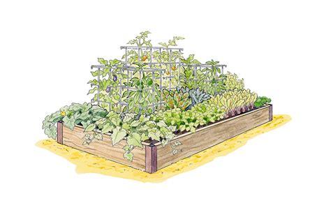 Gardener S Supply Garden Plan Gardening With Melinda Grow A High Yield Vegetable Garden