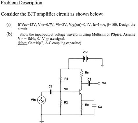 transistor lifier problems and solutions bjt transistor problems with solutions 28 images dc analysis of bjt circuits mp study