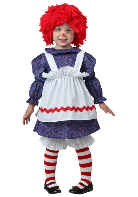 halloween costumes toddler little rag doll costume