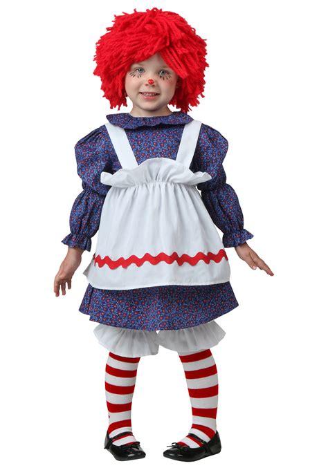 halloween costumes toddler little rag doll costume
