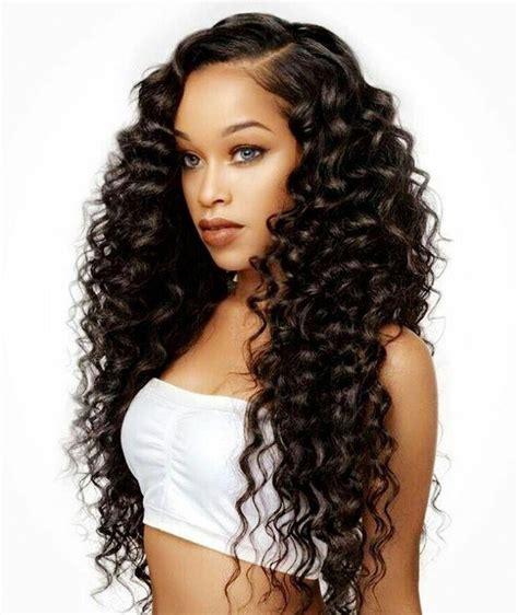 hairstyles for long black hair pinterest 15 best ideas of cute long hairstyles for black women