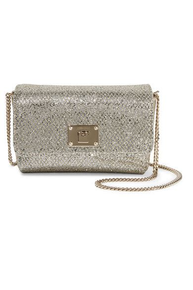 Glittered Shoulder Bag jimmy choo ruby glittered canvas shoulder bag net a