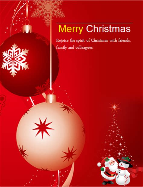 christmas invite template microsoft word ms word colorful flyer templates word excel templates