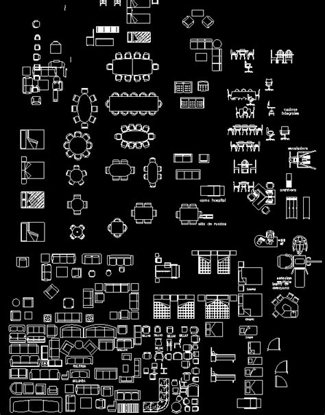 furniture templates for autocad download furniture blocks autocad dwg