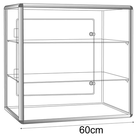 Display Cabinet Lockable by Display Cases Acrylic Perspex 174 Acrylic Display