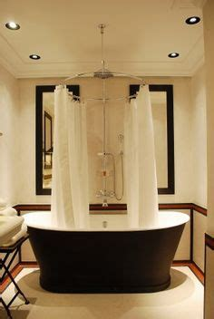 Shower Rail For Roll Top Bath by Roll Top Bath With Shower Curtain And Rail Idea Blissful