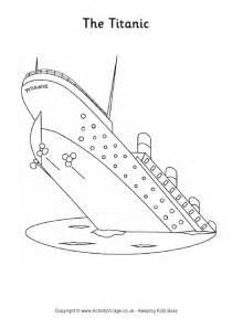 titanic colouring