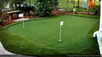Backyard Putting Green Turf » Simple Home Design