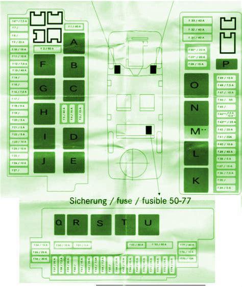 Fuse Box Diagram Mercedes Benz 2001 S500 Mercedes Fuse