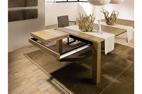 expandable dining room tables modern 3 new modern expandable dining tables from h 252 lsta digsdigs