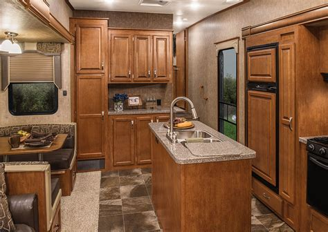 trailer kitchen cabinets durango 2500 d346bhq full profile luxury fifth wheel k z rv