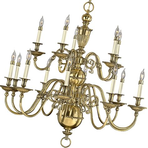 Brass Chandelier Traditional Flemish Brass Chandelier