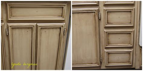 antique finish kitchen cabinets lynda bergman decorative artisan painting a special aging
