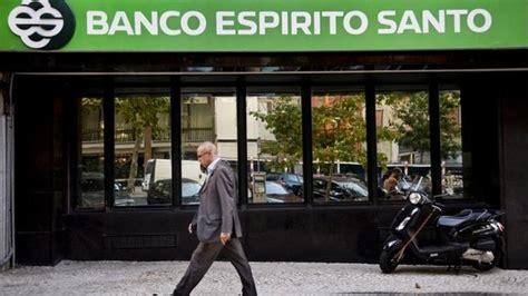 banco esp rito santo banco espirito santo portugal seeks to calm fears