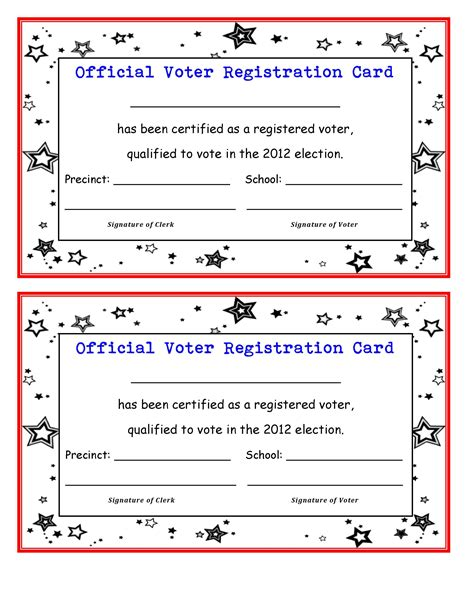 how to vote card template election 2012 may the best character win scholastic
