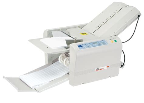 Paper Folding Device - mbm 407a automatic programmable tabletop paper folding machine