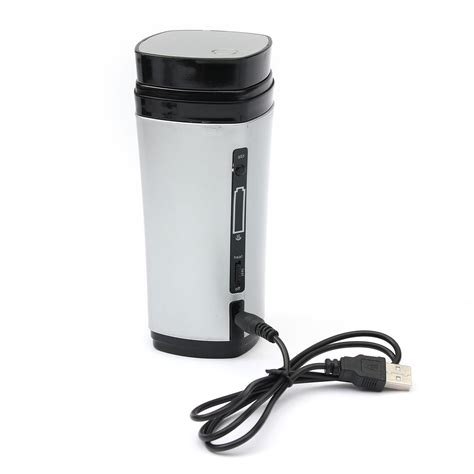 Usb Coffee Warmer usb heater self stirring auto mixing cup mug warmer lid