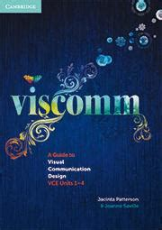 visual communication and design vce viscomm