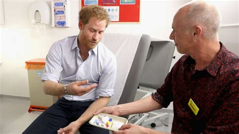 where does prince harry live prince harry takes hiv test live on facebook abc news
