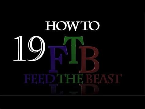 how to feed the beast in minecraft pulverizer 19 youtube