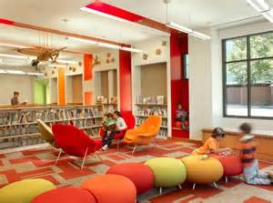 Comfy Library Chairs what a school library could look like making them readers