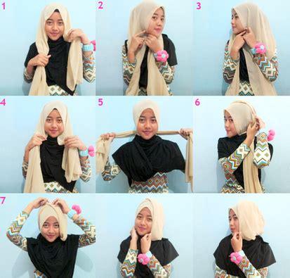 Variasi Jilbab Segi Empat aneka cara memakai segi empat variasi terbaru yang