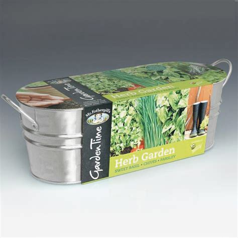 windowsill herb garden garden time range windowsill herb garden kit from mr
