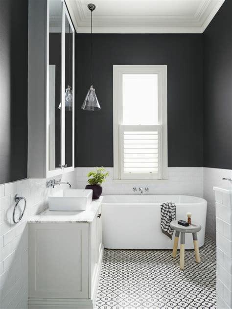 Faience Salle De Bain Noir Et Blanc by Vous Cherchez Des Id 233 Es Pour Un Carrelage Noir Et Blanc